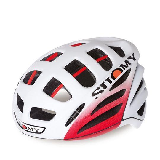 SUOMY GW ELEGANCE MATT WHITE/RED HELMET 一級公路安全帽 消光白/紅